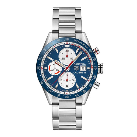 Tag Heuer Carrera Chronograph Automatic // CV201AR.BA0715 // New