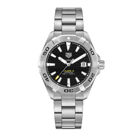 Tag Heuer Aquaracer Automatic // WBD2110.BA0928 // New