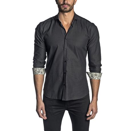 Pin Point Woven Shirt // Black (S)