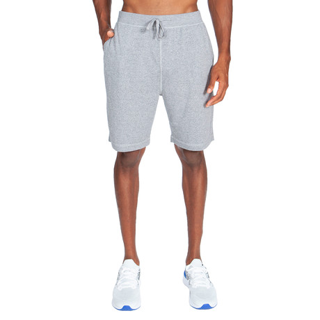Super Soft Short Pant // Melange Light Gray (S)