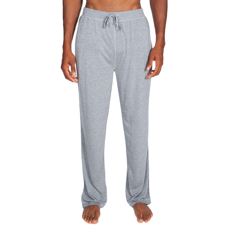Super Soft Lounge Pant // Melange Light Gray (S)