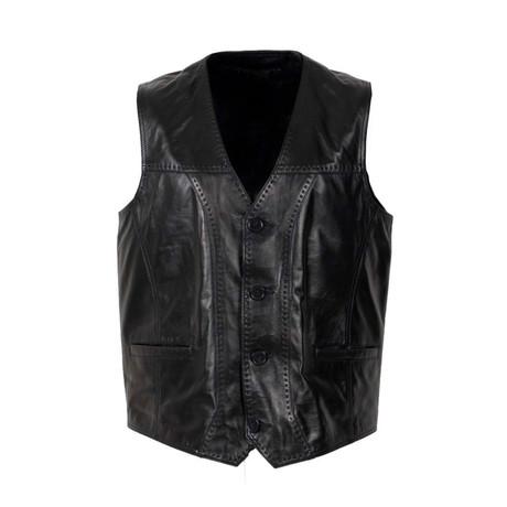 Feliciano Vest // Black (S)