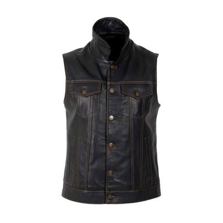 Sparrow Vest // Black (S)