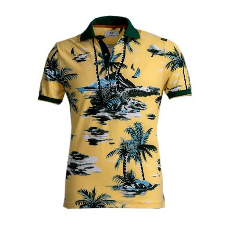 Warren Shirt // Yellow Beach (S)