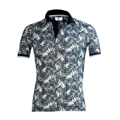 Wilbur Shirt // White + Black Floral (S)
