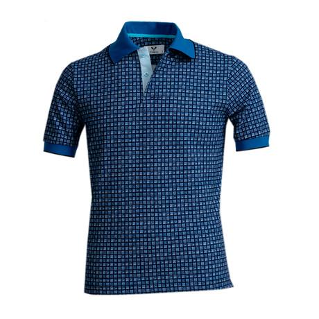 Rios Shirt // Blue Squares (S)