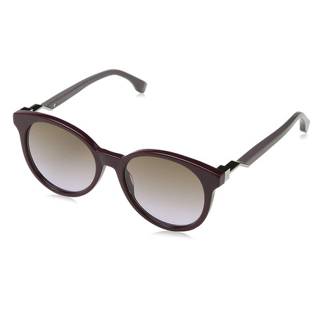 Fendi // Unisex 0231S Sunglasses // Burgundy + Brown Violet Gradient