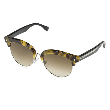 Fendi // Unisex 0154S Sunglasses // Brown Gradient