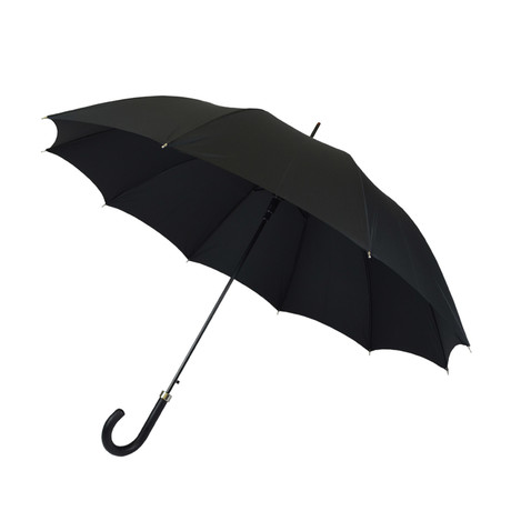 Matte Automatic Umbrella // Black