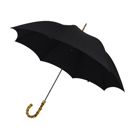 Whanghee Cane Handle + Tip Cup Umbrella // Black
