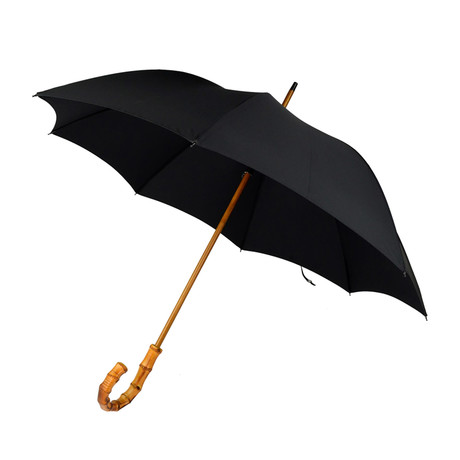 "Whanghee Handle + 24"" Frame Umbrella // Black"