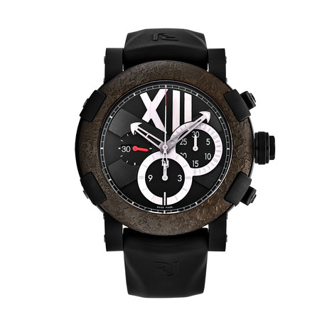 Romain Jerome Chronograph Automatic // CHTOXY3BBBB00BB