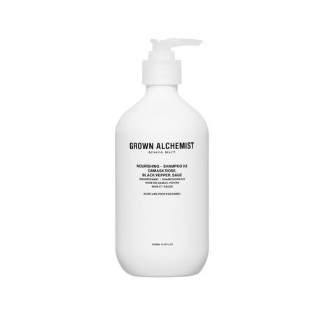 Nourishing Shampoo 16.9 oz // Damask Rose + Chamomile + Lavender