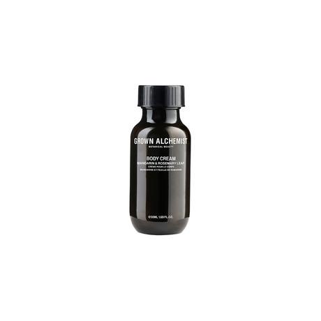 Body Cream 1.7oz Bottle // Mandarin + Rosemary
