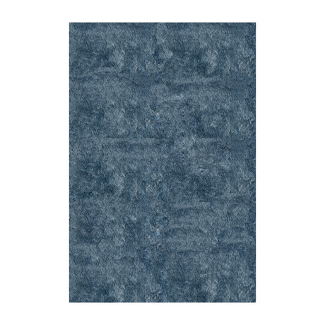Silky Shag // Light Blue // 9' X 12'