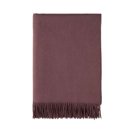 Cashmere Travel Throw // Queen // Mulberry