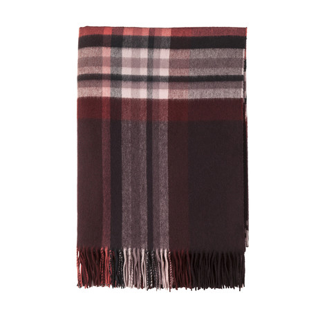 Cashmere Travel Throw // Queen // Ruby