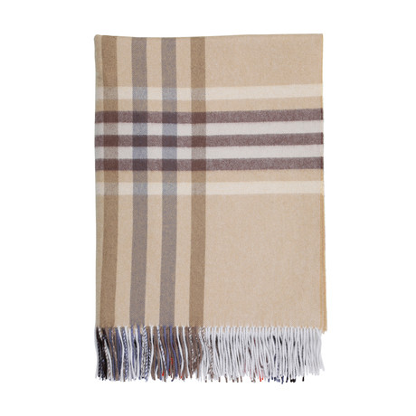 Cashmere Travel Throw // Queen // Aultmore