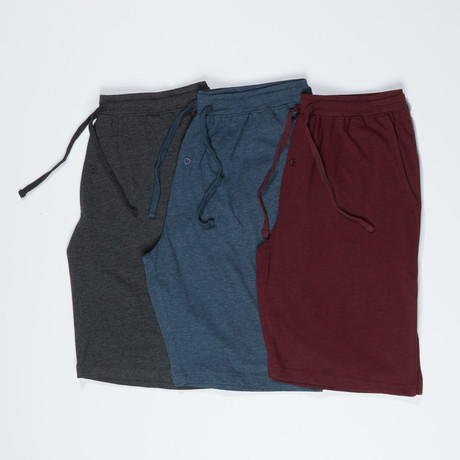 3 Pack Super Soft Lounge Short // Multicolor (S)