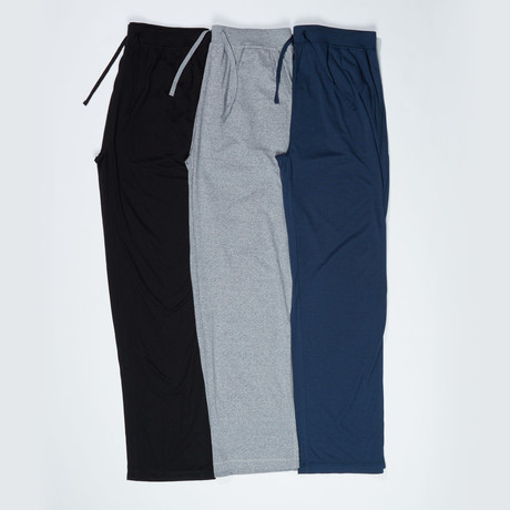 3 Pack Super Soft Lounge Pant // Multicolor (S)