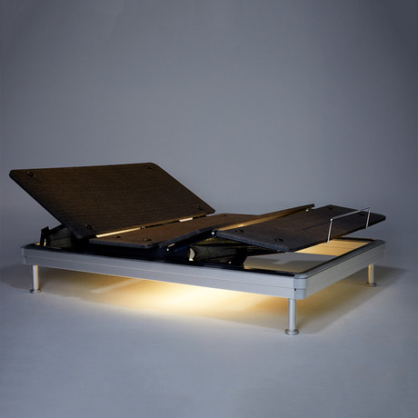 Yaasa Luxe Adjustable Bed // Under Bed Light (Twin XL)