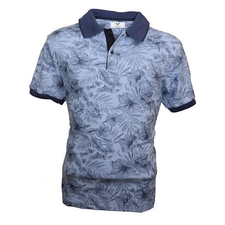 Trivett Shirt // Light Blue Floral (S)