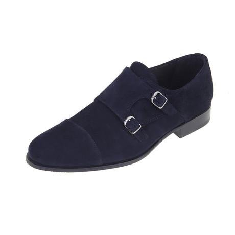 Jacksonville Monk Shoe // Navy (Euro: 40)