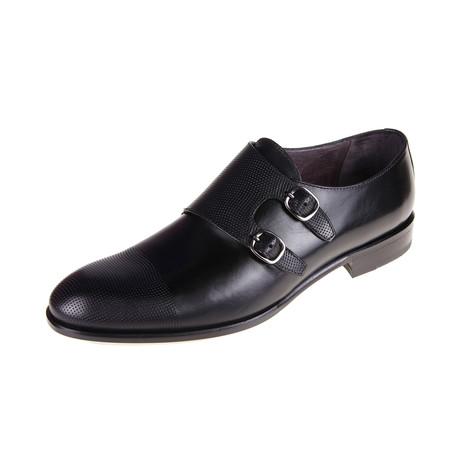 Berkeley Monk Shoe // Black (Euro: 40)
