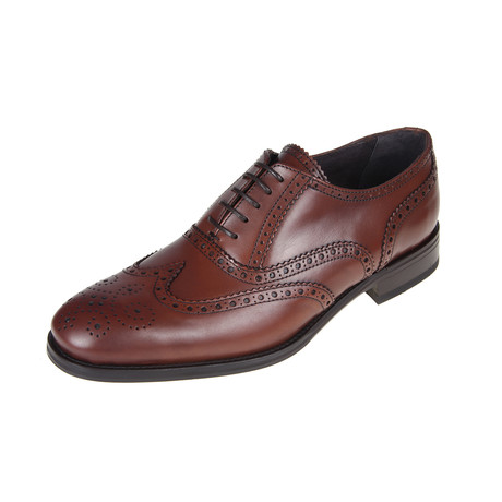 Baltimore Brogue Shoe // Tan (Euro: 40)