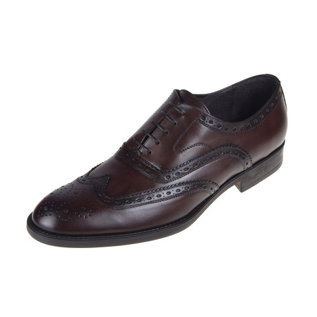 St. Louis Brogue Shoe // Brown (Euro: 40)