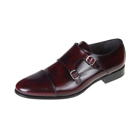 San Francisco Monk Shoe // Bordeaux (Euro: 40)