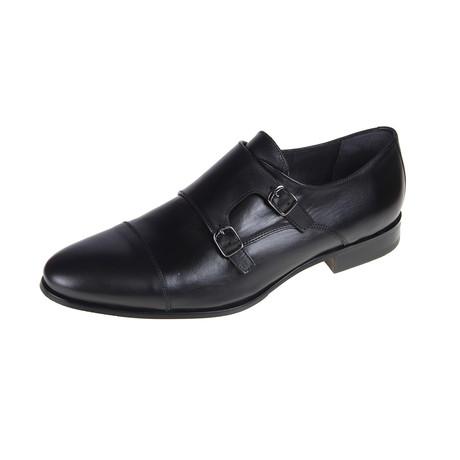 Nashville Monk Shoe // Black (Euro: 40)
