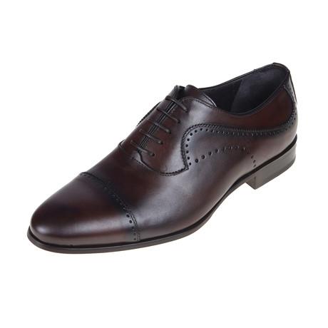 San Antonio Oxford Shoe // Brown (Euro: 40)