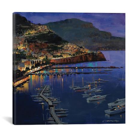 """Amalfi Glow // Maher Morcos (12""""W x 12""""H x 0.75""""D)"""