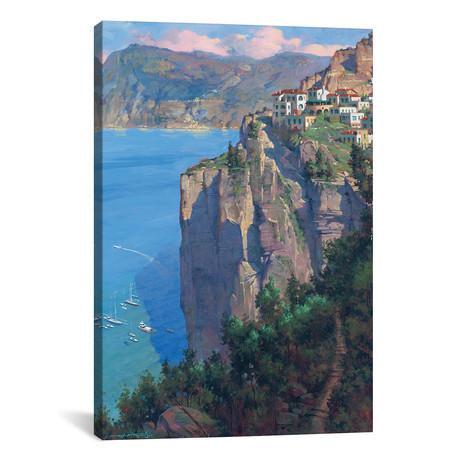 "Amalfi Coast // Maher Morcos (12""W x 18""H x 0.75""D)"
