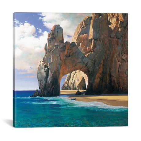 """Cabo // Maher Morcos (12""""W x 12""""H x 0.75""""D)"""