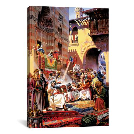 """El Souk Friday's Market (12""""W x 18""""H x 0.75""""D)"""