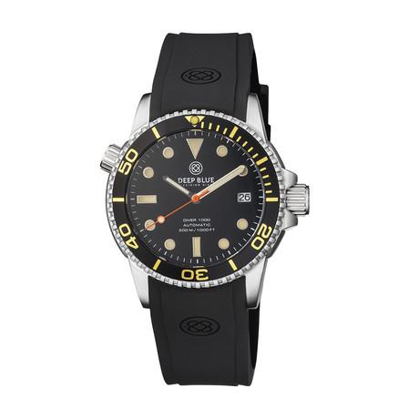 Deep Blue Diver 40mm Automatic // DIVER40BLACKVINTBEZEL