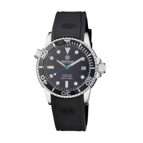 Deep Blue Diver 40mm Automatic // DIVER40BLKBLUESEC