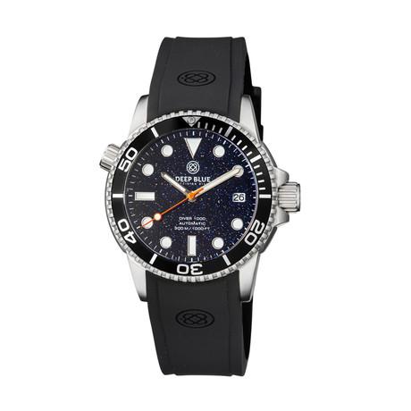 Deep Blue Diver Automatic // DIVER40BLUESANDSTONE