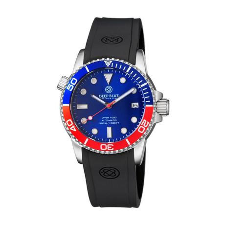 Deep Blue Diver 40mm Automatic // DIVER40PEPSI20304050