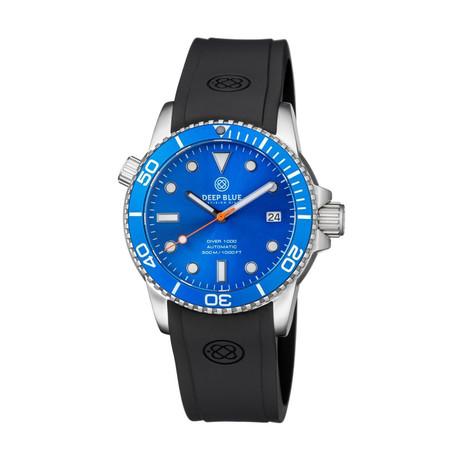 Deep Blue Diver 40mm Automatic // DIVER40LTBLUEBLUE