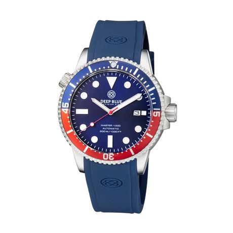 Deep Blue Master 45mm Automatic // MAS1KPEPS153045