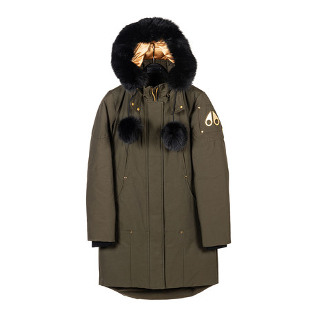 Women's Governor Lake Parka // Green + Black (XS)