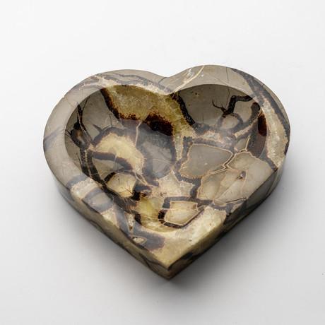 Septarian Heart Dish // Version 2