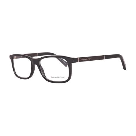 EZ5013 Rectangular Optical Frame // Black