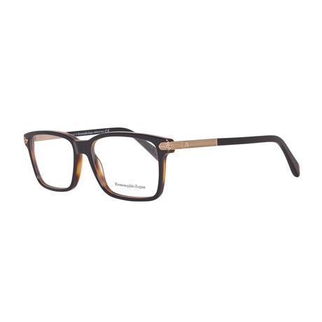 EZ5009 Optical Frame // Black + Brown