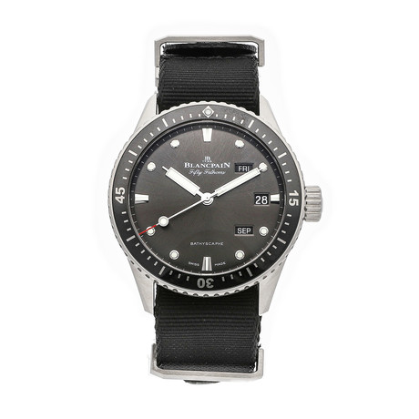 Blancpain Fifty Fathoms Bathyscaphe Quantieme Annual Automatic // 5071-1110-NABA // Pre-Owned