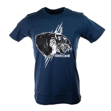 Hendricks T-Shirt // Navy (S)