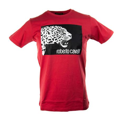 Daniel T-Shirt // Red (S)